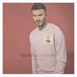 David Beckham Kent And Curwen pink jumper