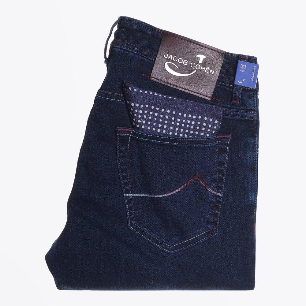 Display of Jacob Cohen j622 jeans