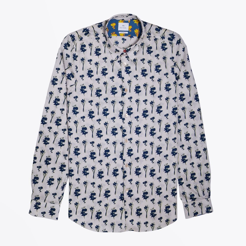 Display of Paul Smith floral shirt