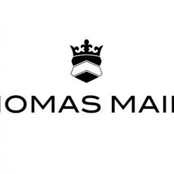 Display of Thomas Maine logo
