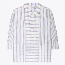- Stripe Shirt - Iris Blue