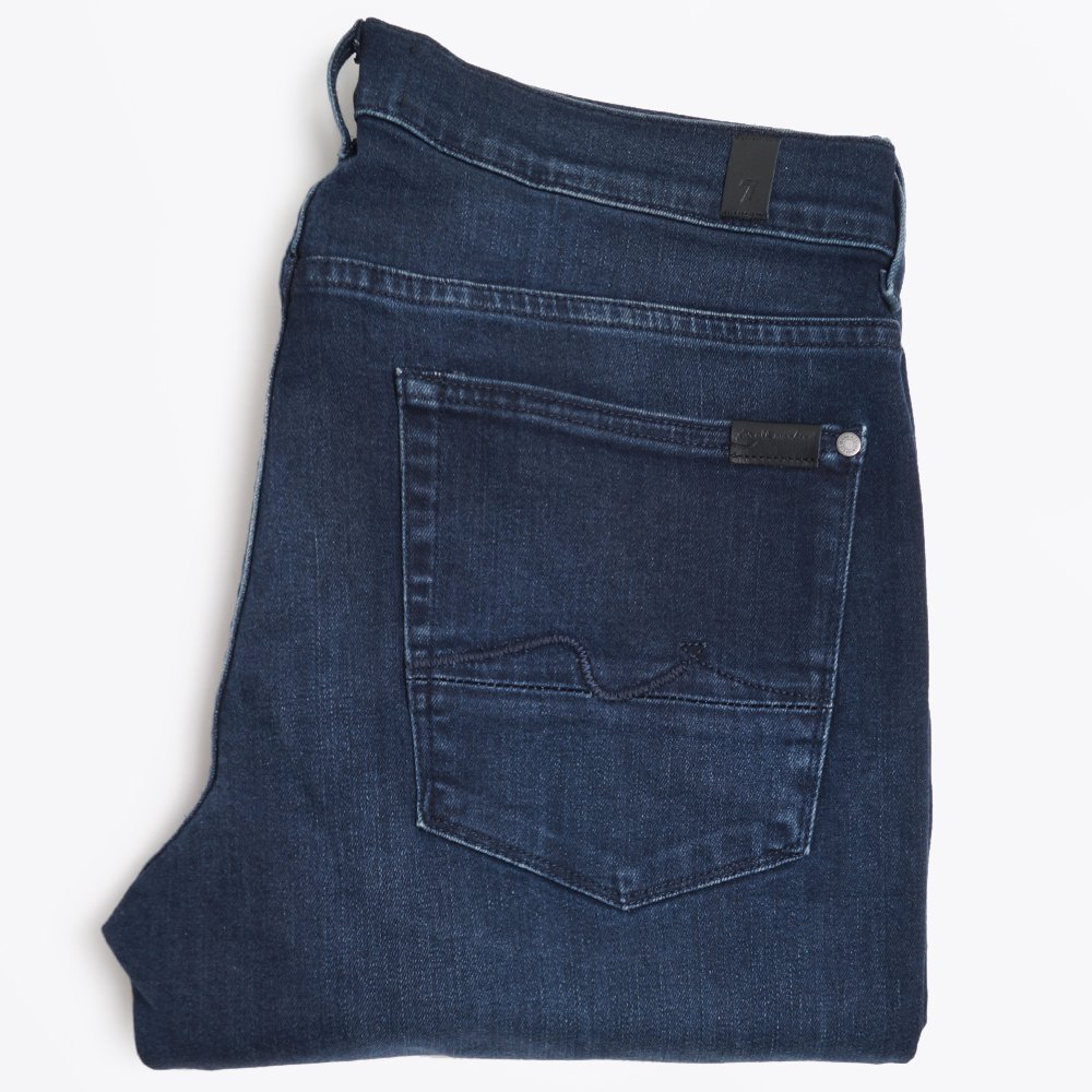 Luxe Performance Slimmy Dark Blue   Men's Jeans   7 For All Mankind