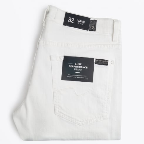7 For All Mankind | Ronnie Luxe Performance Jeans - White