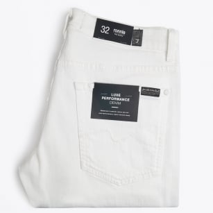 | Ronnie Luxe Performance Jeans - White