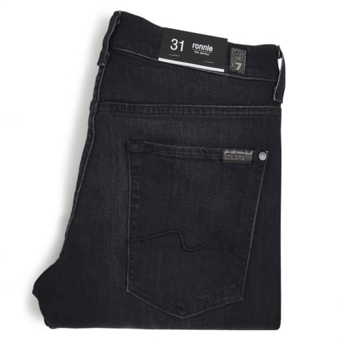 7 For All Mankind - Ronnie Luxe Performance Superior Jeans - Black