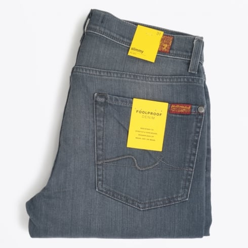 7 For All Mankind - Slimmy Fool Proof Avenue Jeans - Grey