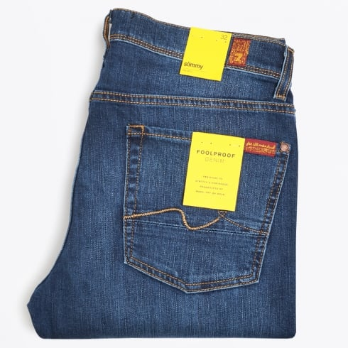 7 For All Mankind - Slimmy - Foolproof Denim - New York Dark