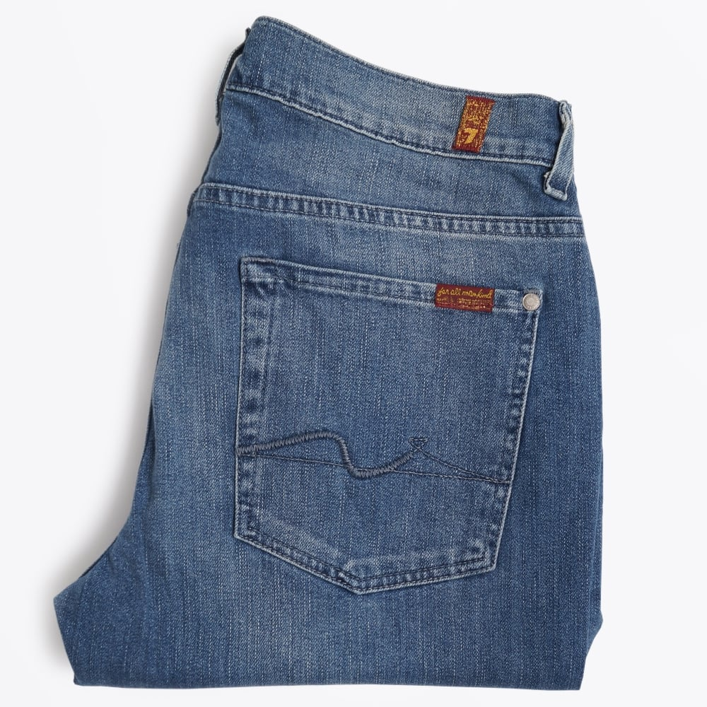 Slimmy Indigo Jeans | Men's Jeans | 7 For All Mankind