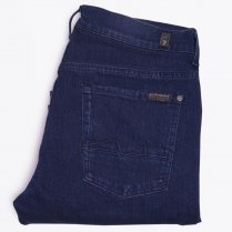 - Slimmy Lux Performance Jeans - Blue