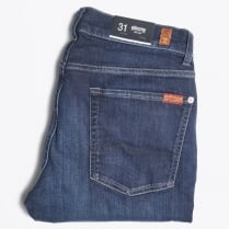 - Slimmy NY Dark Used Jeans - Mid Wash
