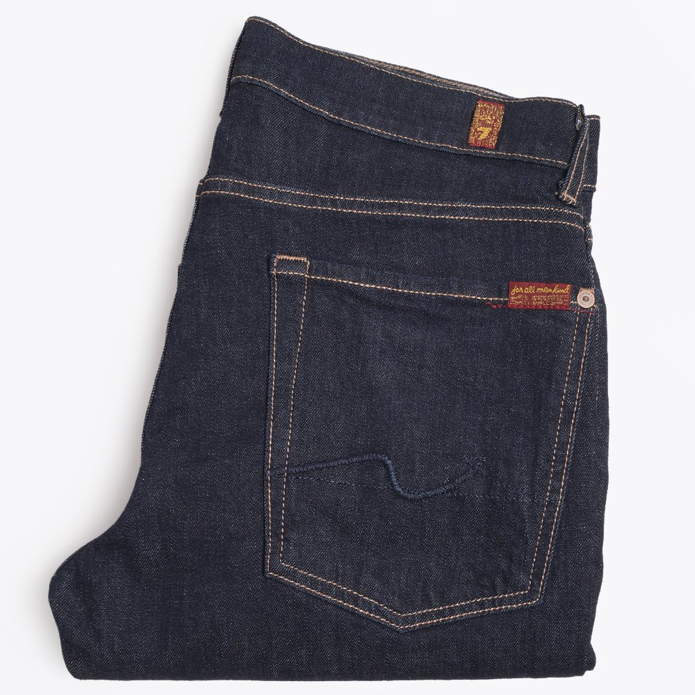 Slimmy Slim Stretch Indigo Jeans   Men's Jeans   7 For All Mankind