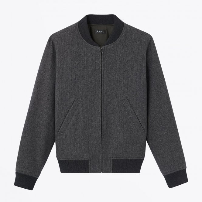 - Lota - Tweed Jacket - Grey