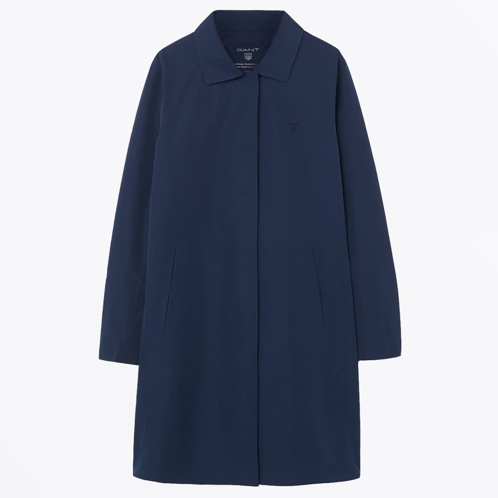 0ed757f617 Gant - All Weather Coat - Evening Blue - Mr & Mrs Stitch