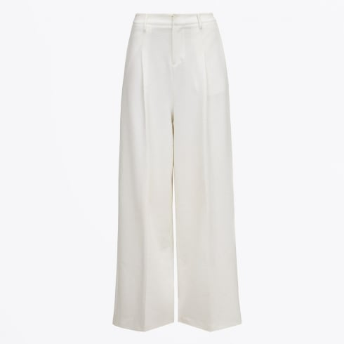 Almost Famous - Wide Leg Trousers - White