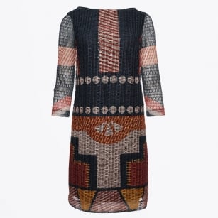 | Tribal Print Dress - Multi