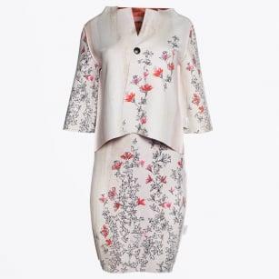 | Reversible Dress & Jacket - Floral Orange