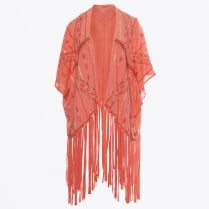 - Liyama Beaded Kaftan - Pink Martini