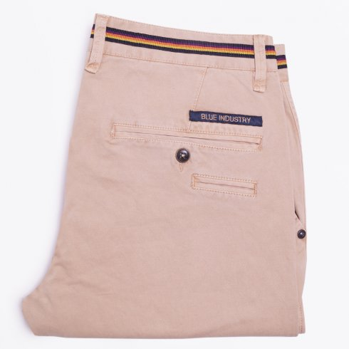 Blue Industry - Cotton Stretch Chinos - Sand