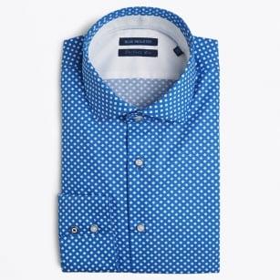 | Diamond Print Shirt - Blue