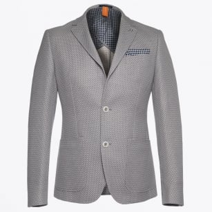 | Dot Detail Jacket - Grey