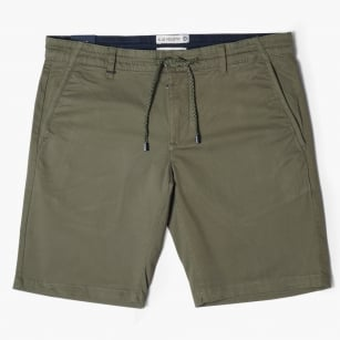 - Drawstring Shorts - Green