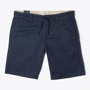- Drawstring Shorts - Navy