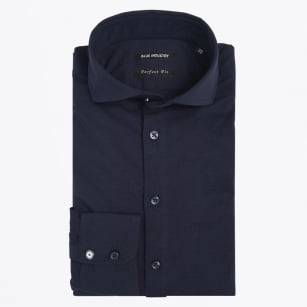 | Jersey Stretch Shirt - Navy