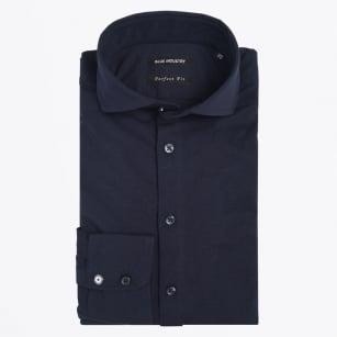 | Jersey Stretch Shirt - Navy