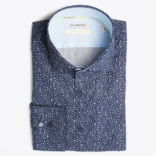 - Multi Dot Shirt - Navy