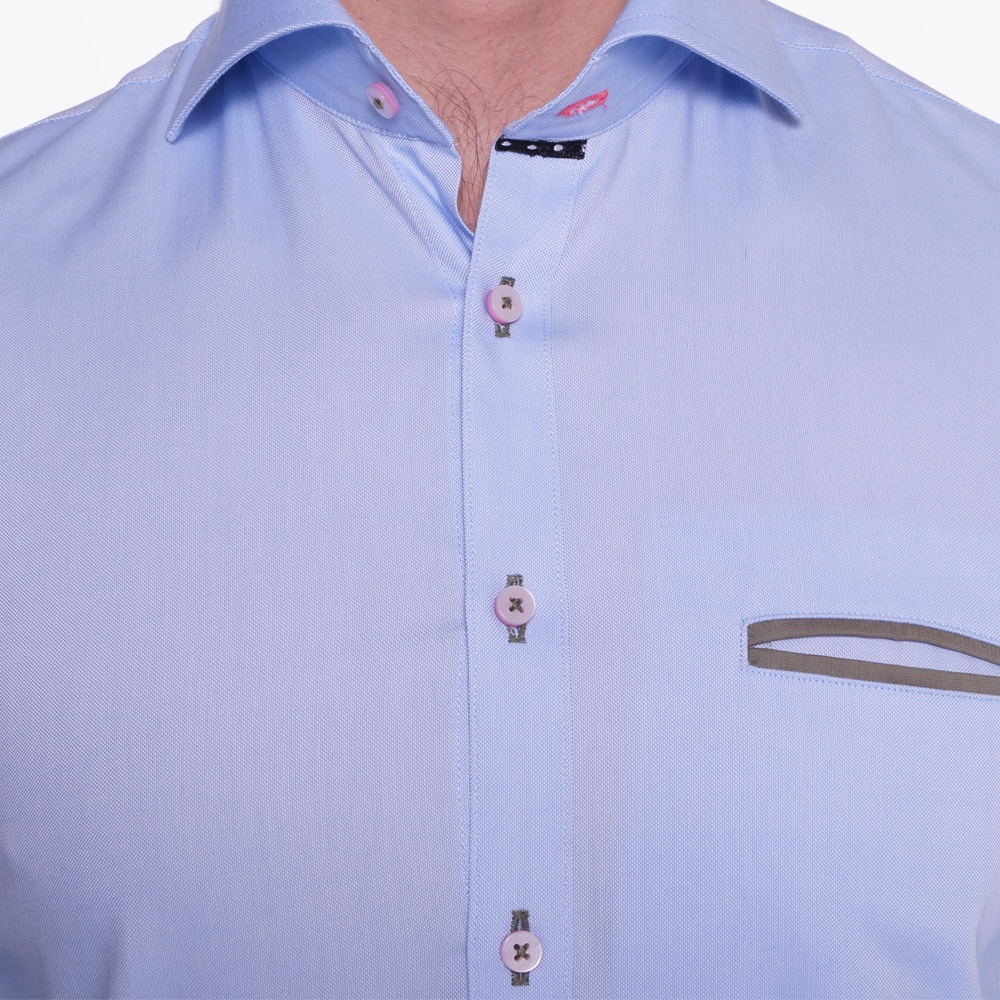 Oxford pink button shirt casual shirts for men blue for Pink oxford shirt men