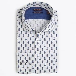 | Pineapple Print Shirt - White