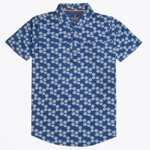 | Printed Polo - Navy