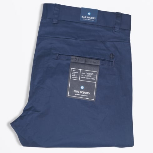 Blue Industry - Slim Fit Stretch Chino - Navy