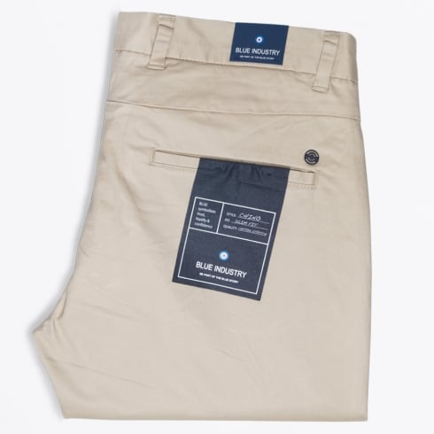 Blue Industry - Slim Fit Stretch Chino - Sand
