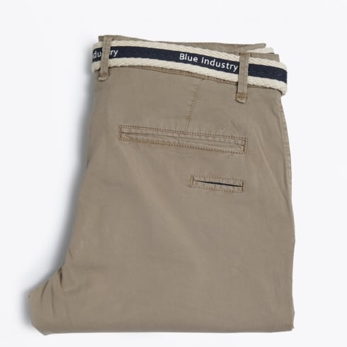 Blue Industry - Stretch Casual Chino - Sand