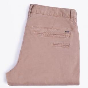 | Stretch Chino Trousers - Khaki