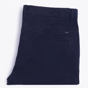   Stretch Chino Trousers - Navy