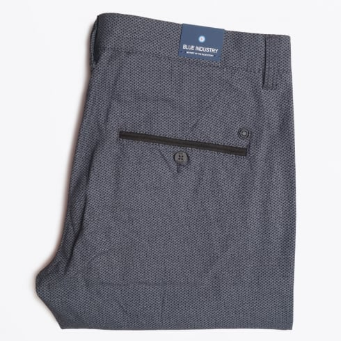 Blue Industry - Textured Chinos - Grey