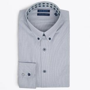 | Woven Button Down Shirt - Grey