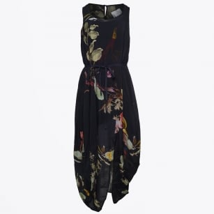 | Opium Parachute Dress - Navy