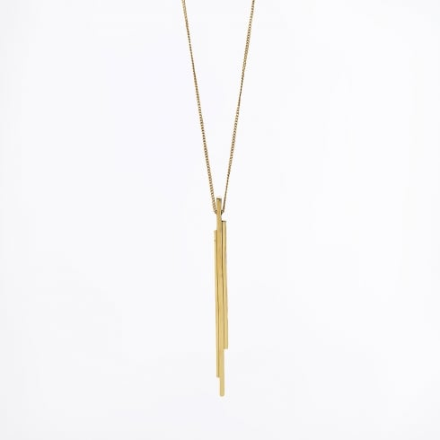 By Malene Birger - Calaise Long Straight Necklace - Gold