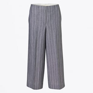 | Lasandros Striped Trousers - Ink