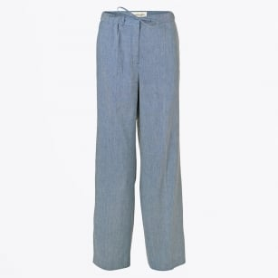 - Passia Linen Trousers - Ink