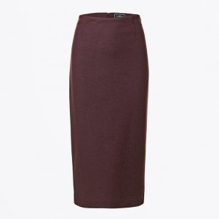 | Zikas Pencil Skirt - Plum