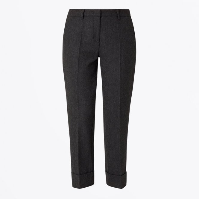 Cambio - Krystal - Tapered Cuff Trousers - Grey