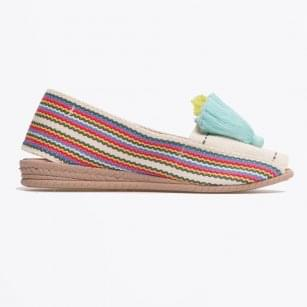 - Multi Stripe Tassel Pump - Multistripe