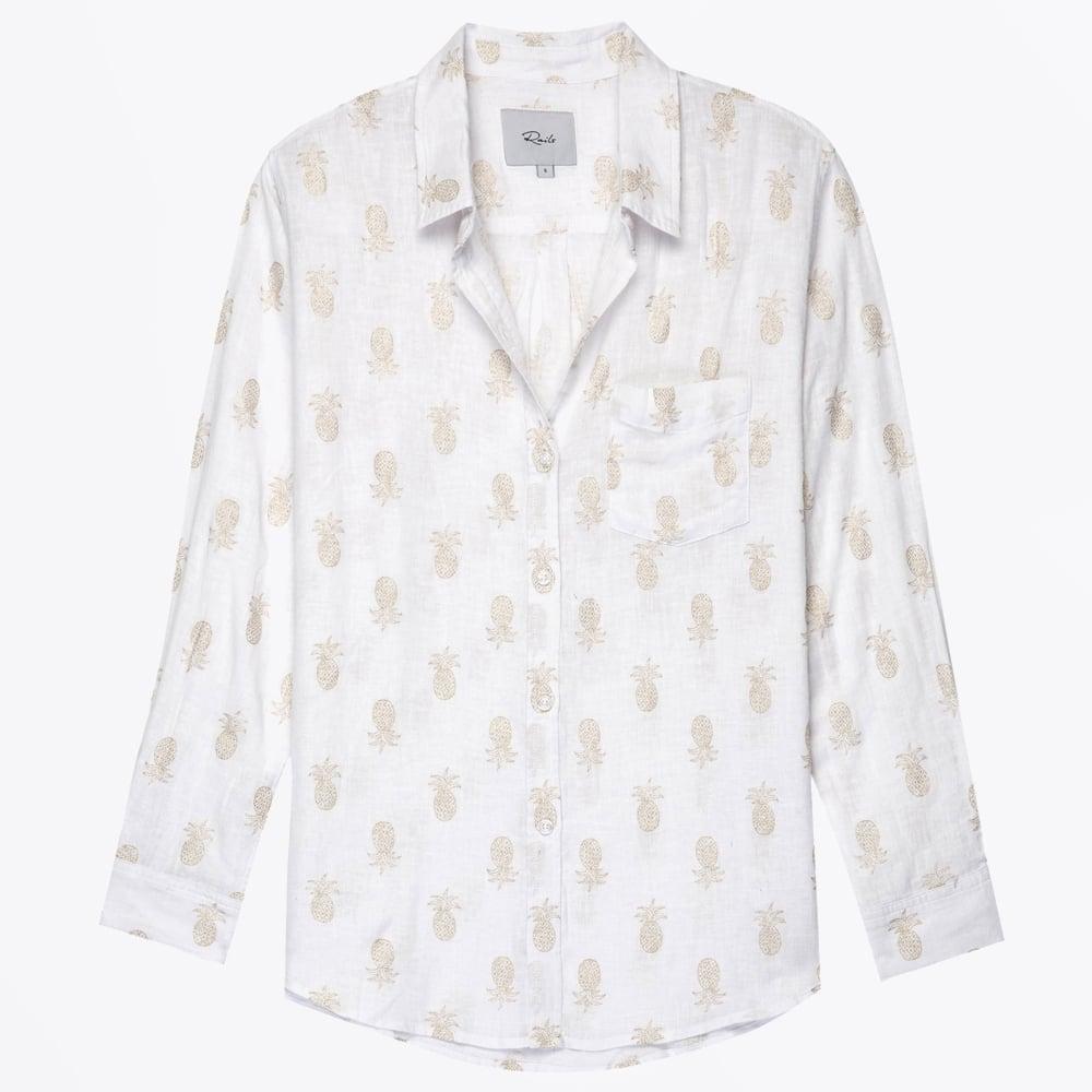 d3f6477556da Rails - Charli Gold Pineapples Shirt - Mr & Mrs Stitch