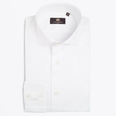 Circle Of Gentlemen - Agostino WS Luxury Cotton Shirt - White