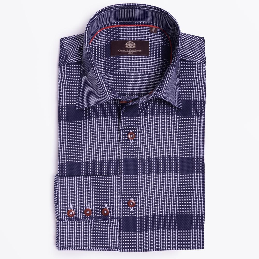 Circle Of Gentlemen Overhemd.Gannon One Button Collar Mens Designer Shirts Circle Of Gentlemen