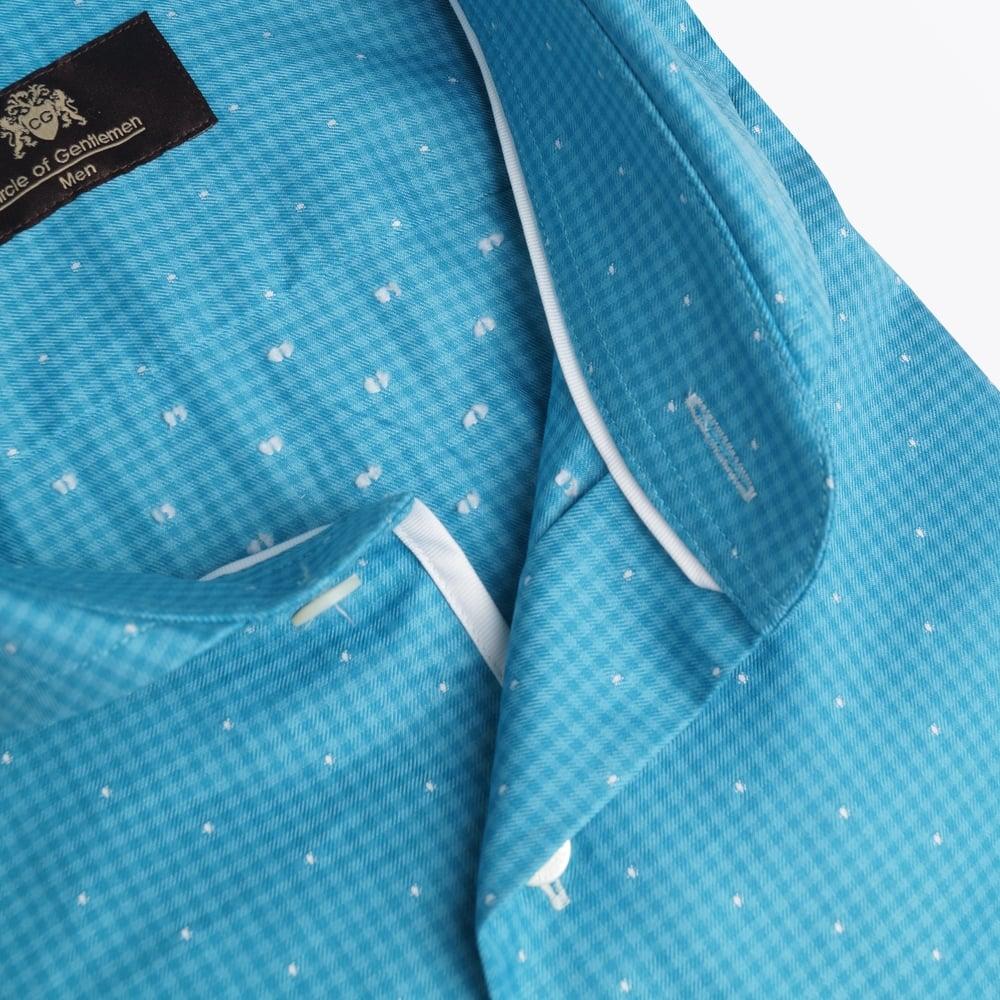 circle of gentlemen jonesboro gingham shirt jade mr. Black Bedroom Furniture Sets. Home Design Ideas
